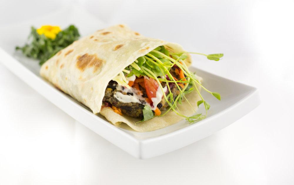 Mediterranean Wrap Platter