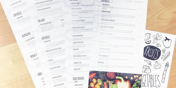 INTRODUCING: PMK'S NEW MENUS!