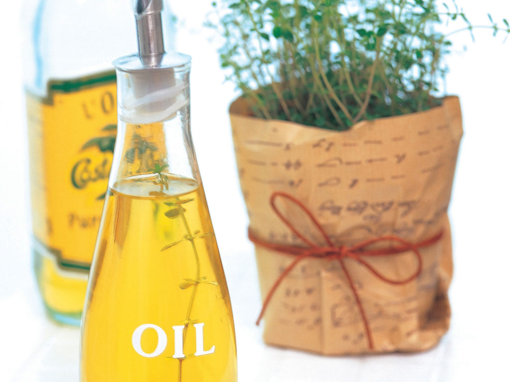 Cooking With Organic Oils & Oil Substitutes