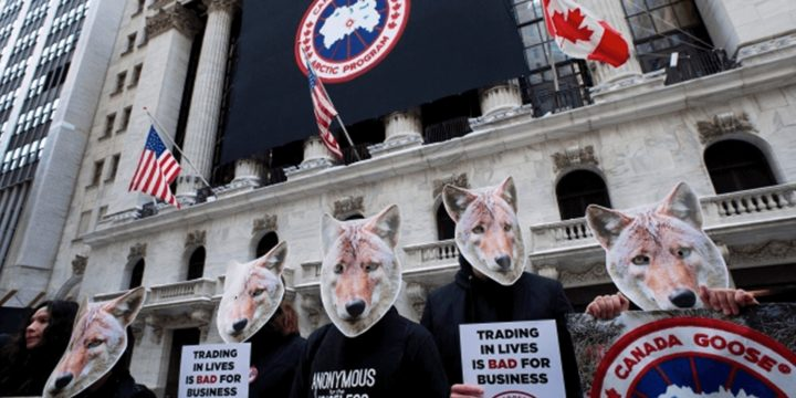 PETA Protests Canada Goose