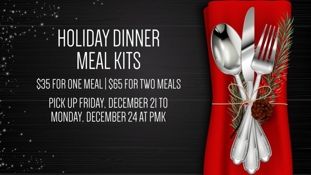 PMK - Holiday Dinner Meal Kits
